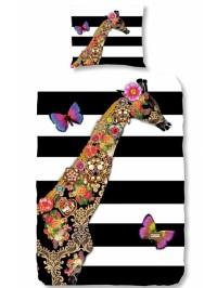 satin-bettwaesche-set-giraffe-in-schwarz-weiss-bunt