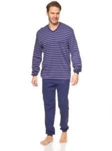 pyjama-in-dunkelblau-flieder-rot