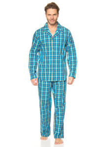 pyjama-in-tuerkis-schwarz-gelb