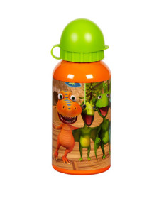 trinkflasche-dino-zug-in-orange-gruen---400-ml