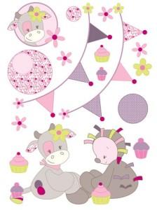 wandstickerset-in-rosa-bunt