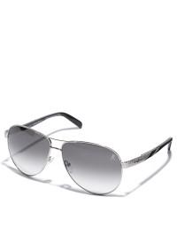 damen-sonnenbrille-silber-schwarz